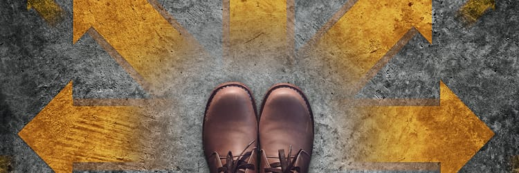 feet in brown leather shoes - steps to have a successful business